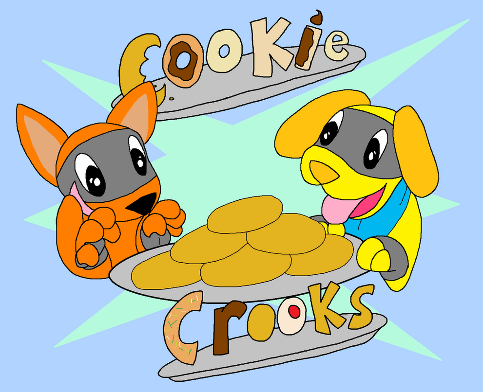 Speedy and Dogo: Cookie Crooks! by mom1995577