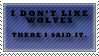 Wolf stamp. by BRBsuicide