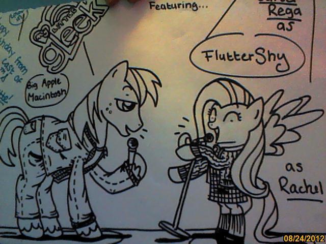My Little PonyGlee Birthday Card by Memejobon on DeviantArt – Glee Birthday Card