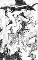 Red Sonja Tryout page 01 by arielpadilla