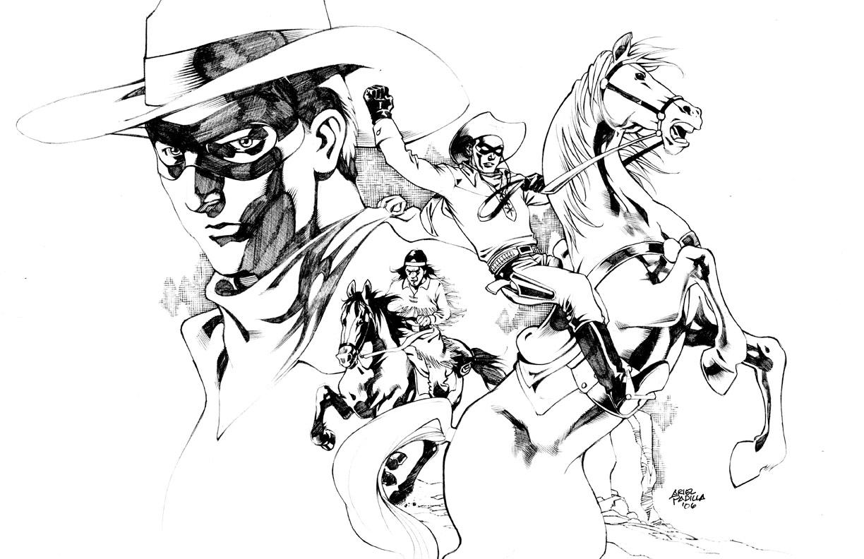 Uncategorized Lone Ranger Coloring Pages the lone ranger by arielpadilla on deviantart arielpadilla
