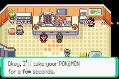 Pokemon hack by Dragonthian