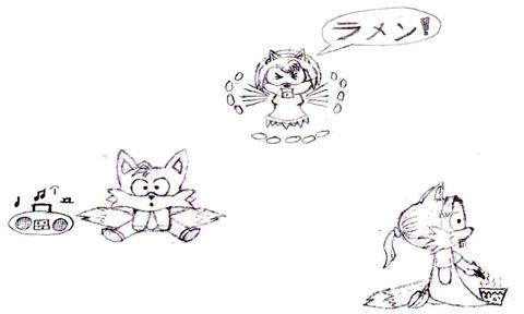 My chibi art by Dragonthian