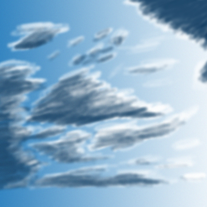 Practice with clouds by Dragonthian