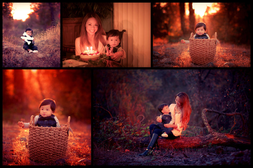 Mother daughter portraits by olieng