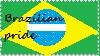 Brazilian Pride Stamp by marianagatto
