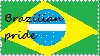 Brazilian Pride Stamp by mariforalltmnteterna