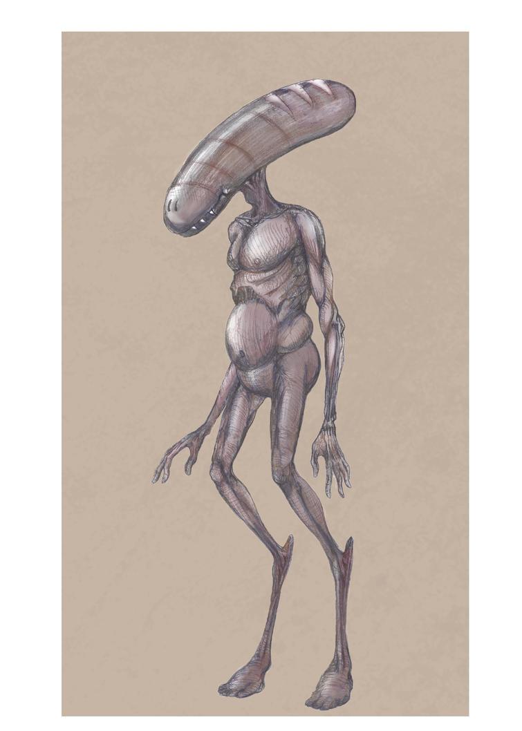 Alien Hybrid tribute by IDacke