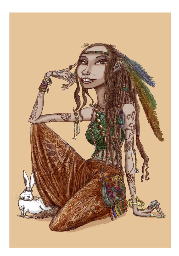 Hippy Girl by IDacke