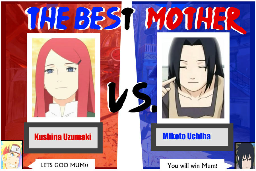 Le duel des Mamans: Kushina VS Mikoto Kushina_vs__mikoto_by_sayuri_himex3-d5i2e58