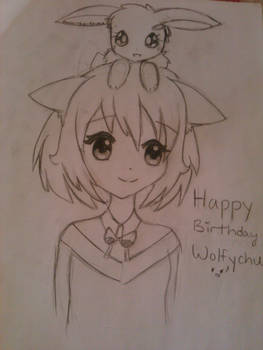 Happy Birthday, Wolfychu!!!