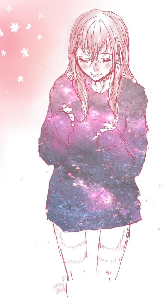Anime Sweaters Drawing