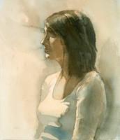1-session watercolor portrait by Zirngibl