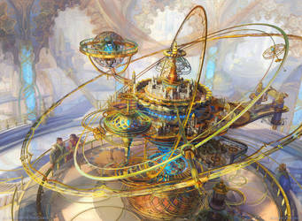 Ghirapur Orrery by Zirngibl