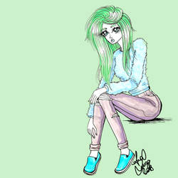 Mint is her fave color