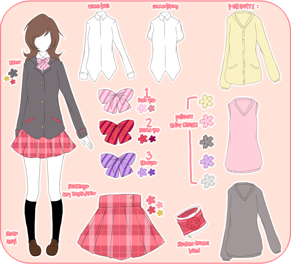 School-Idol-Project Uniform by saeriin