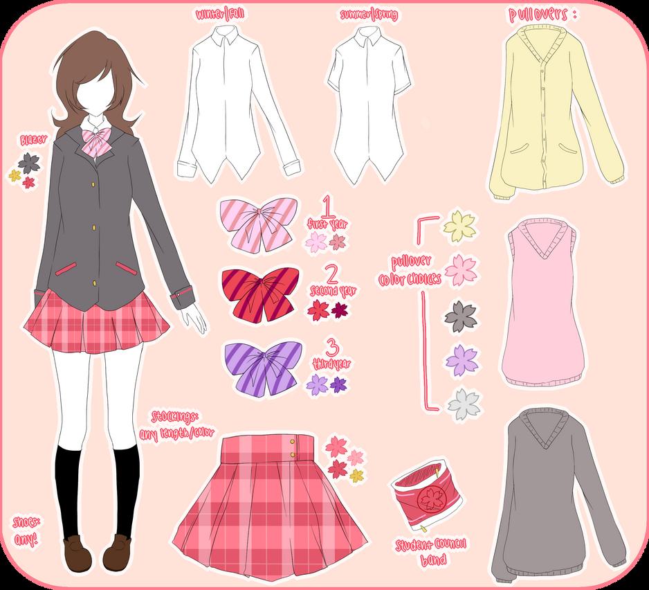 School-Idol-Project Uniform by saeriin