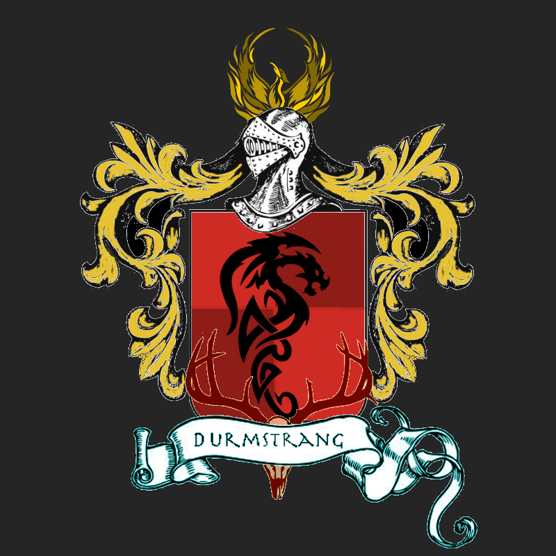 Durmstrang Institute Crest By Pocketpixelart On Deviantart The powerful witch, nerida vulchanova singlehandedly founded the institute. durmstrang institute crest by