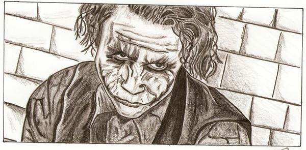 The Joker's look by Romi07