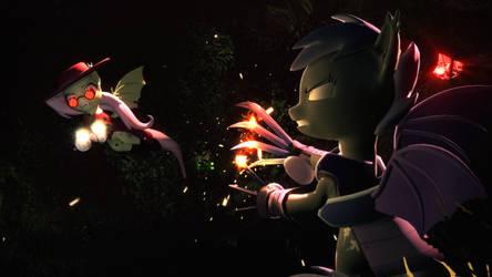 Bat vs Bat (True remake) by Powdan