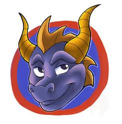 Spyro badge