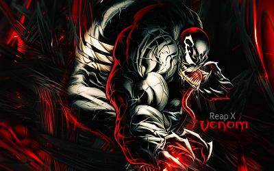 Venom Marvel by Skrillex10