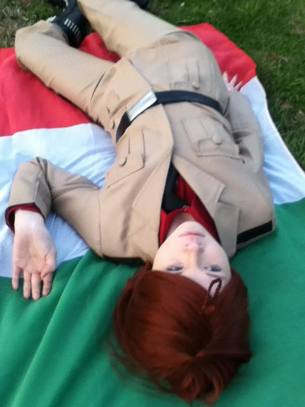 Hetalia cosplay South Itally 1 by RomaVargas