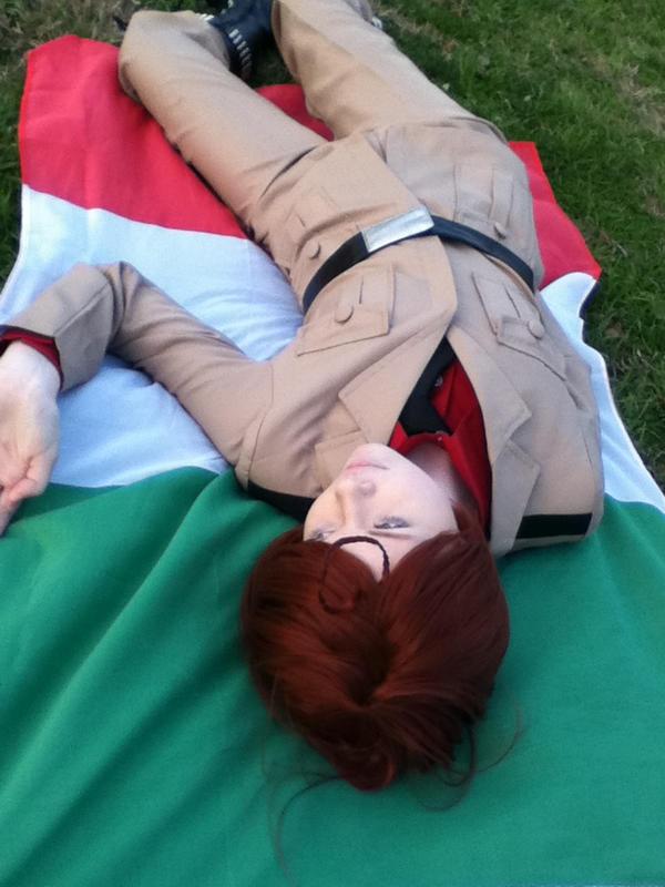 Hetalia cosplay South Itally 3 by RomaVargas