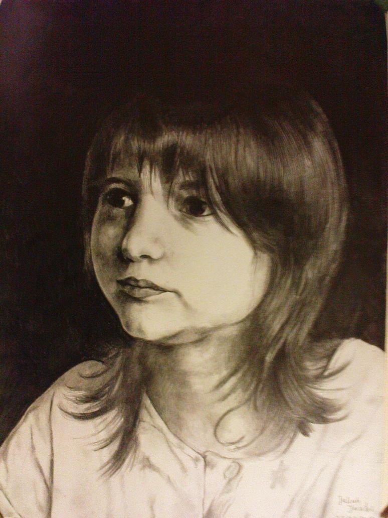 Portrait on black backgraund by Giac0mo