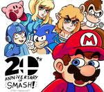 20 Years of Smash Bros!