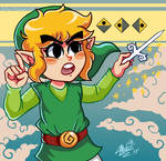 Toon Link and the Wind Waker (TLOZ:WW)