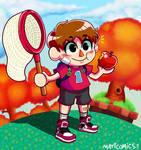 Villager from Animal Crossing