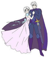 Princess Helce and Leon by R-Lynn