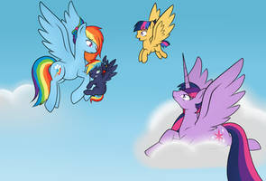 'Kilala97Contest1: (Learning how to fly)' by Mutant-Girl013