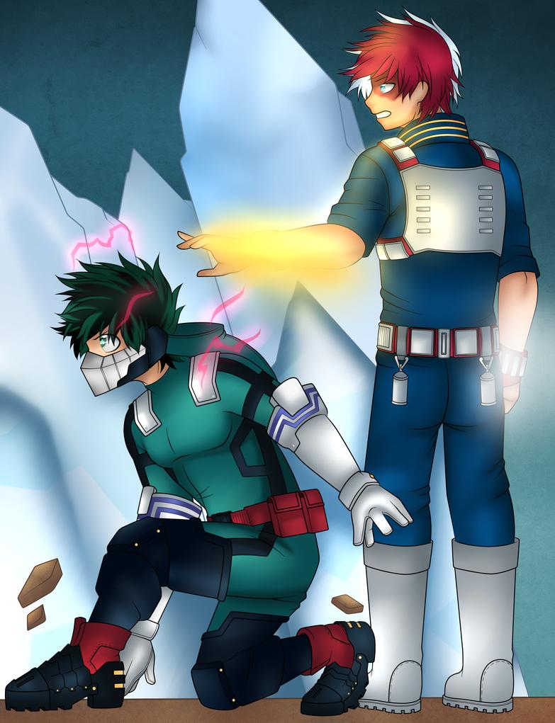 Shouto and Deku  by Mutant-Girl013