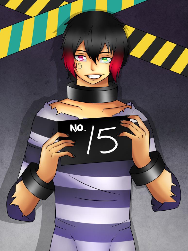 Inmate nr 15 - Jyugo by Mutant-Girl013