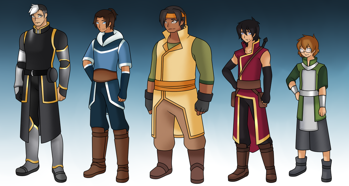Avatar - Paladins AU by Mutant-Girl013