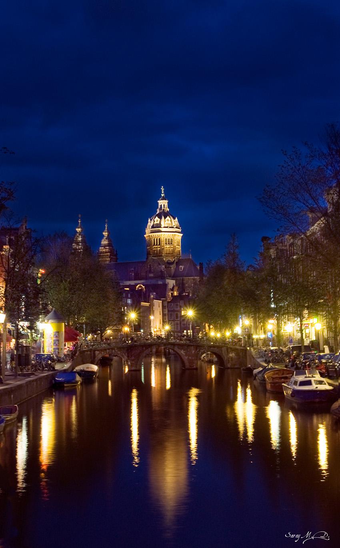 Amsterdam By Night By Samudi On Deviantart