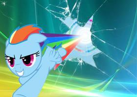 Rainbow Dash Desktop by TTD33x