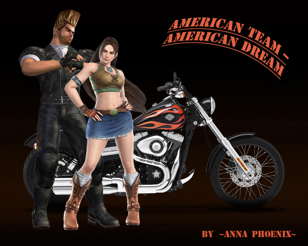 American Team - American Dream by Anna-Phoenix