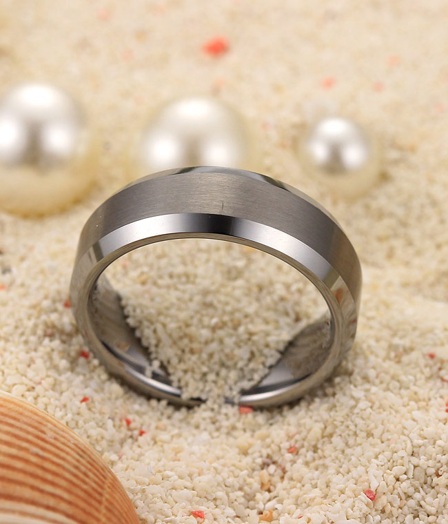 Tungsten Wedding Ring Size O Mm