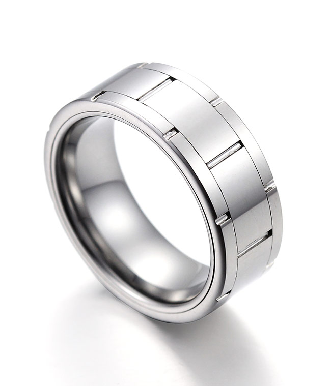 Tungsten Band Rings