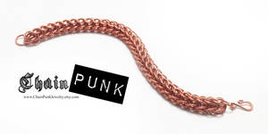 Persian Chainmaille Copper Bracelet