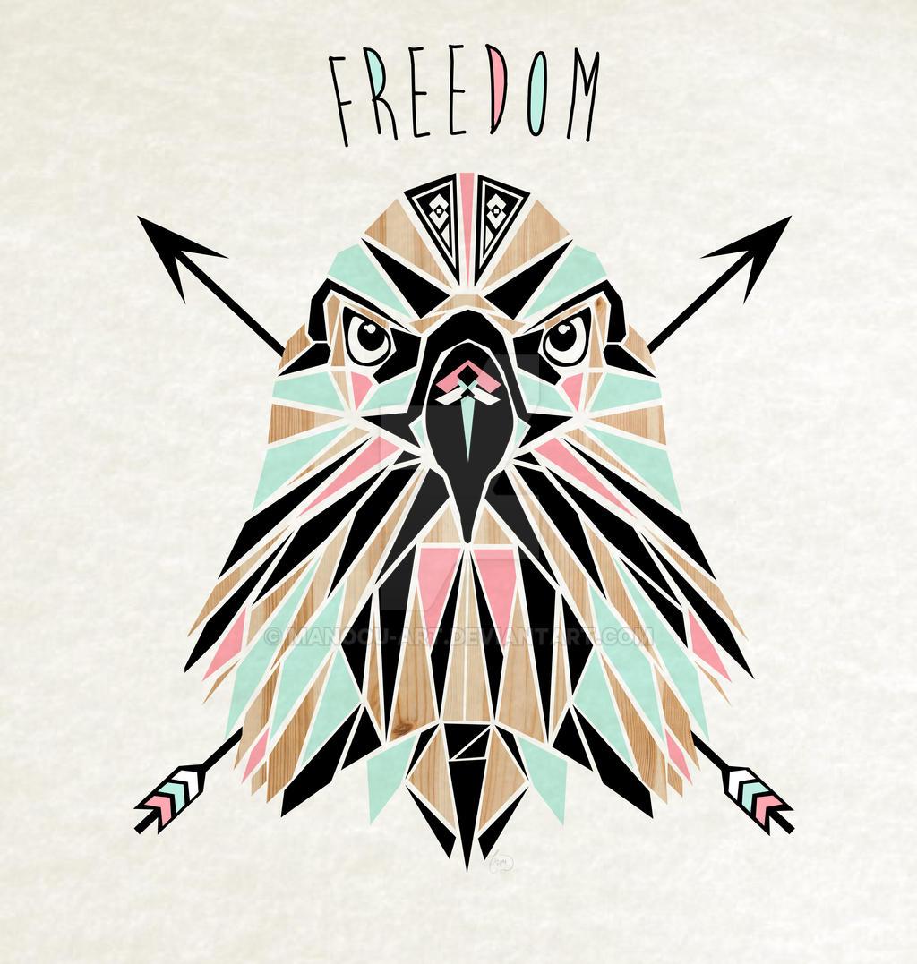 freedom eagle by MaNoU56