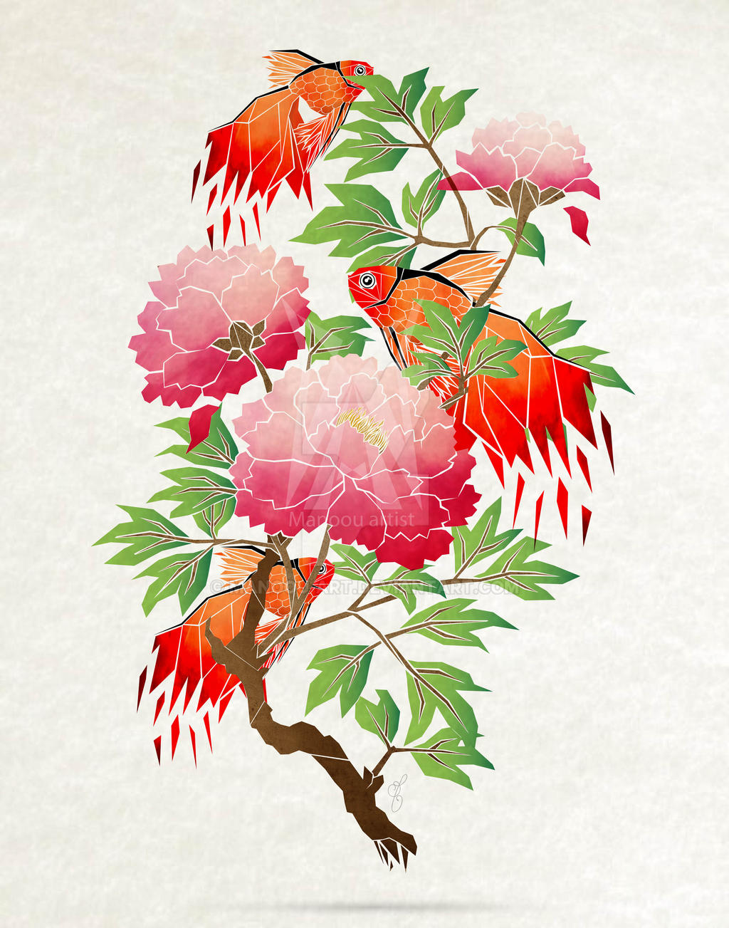 goldfish by MaNoU56