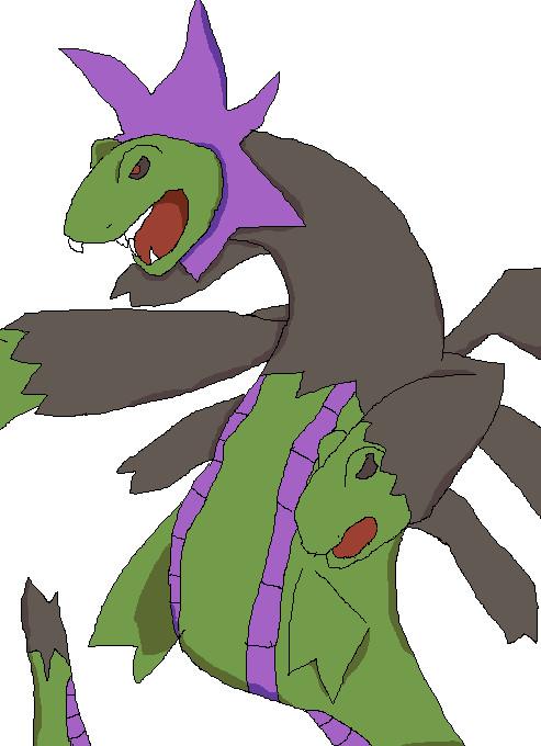 shiny pokemon of the day: hydreigon (2/2) by ...