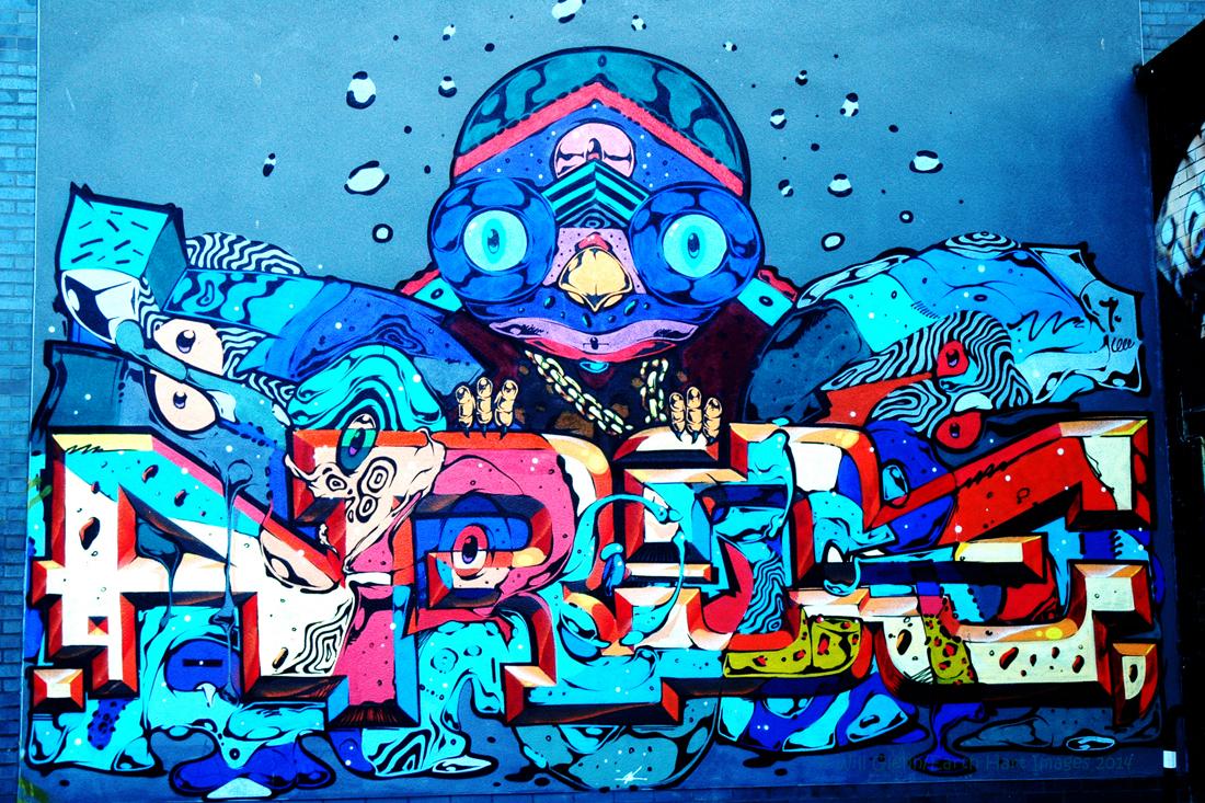 Brighton Back Street Art by EarthHart