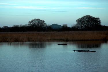 The Tor, From Shapwick Heath by Earth-Hart
