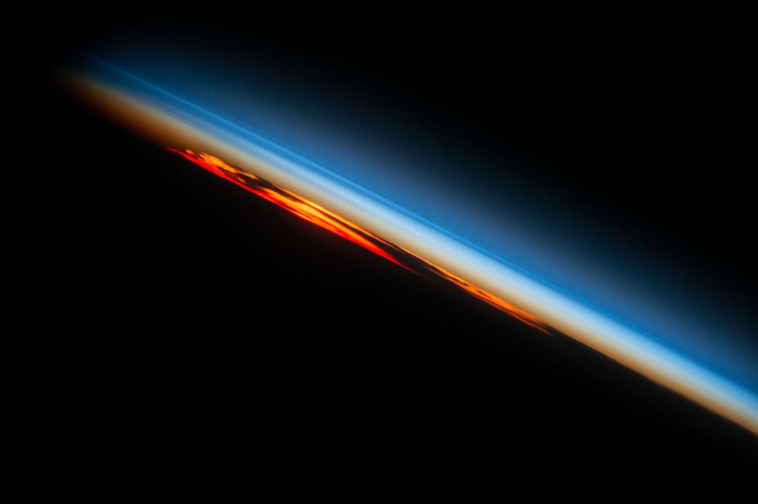 Fiery South Atlantic Sunset by Earth-Hart