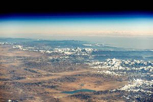 An Astronaut's View of the Himalayas by Earth-Hart